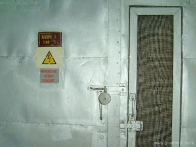 Вход в трансформаторную. Помещение особо опасное