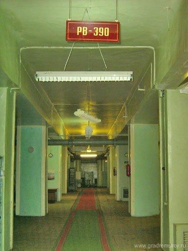 Здесь в годы войны находился пульт управления передатчика РВ-390