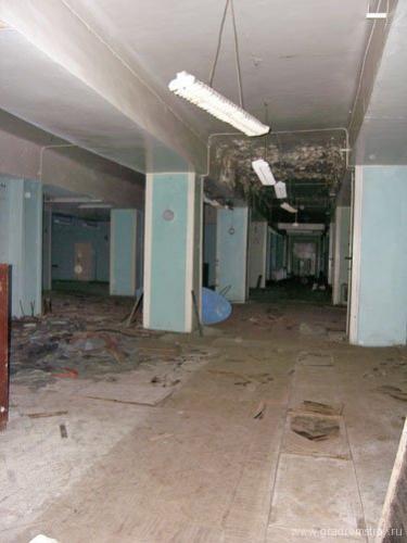 Зал передатчика РВ-390. Декабрь 2006