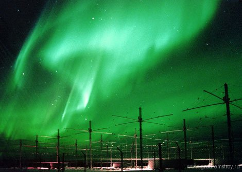 HAARP (High Frequency Active Auroral Research Program