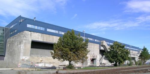 База-бункер немецких подводных лодок ДОРА