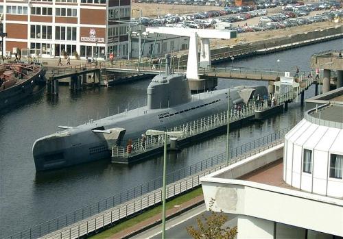 Немецкие подводные лодки XXI серии