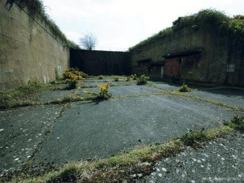 Брошенная база ПВО в Англии