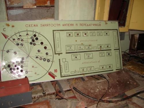Брошенный подземный передающий центр
