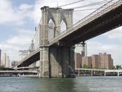 Бункер в Бруклинском мосту Нью-Йорка