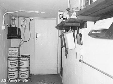 Бункер для коров в штате Небраска