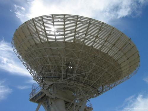 Бункер комплекса дальней космической связи Голдстоун