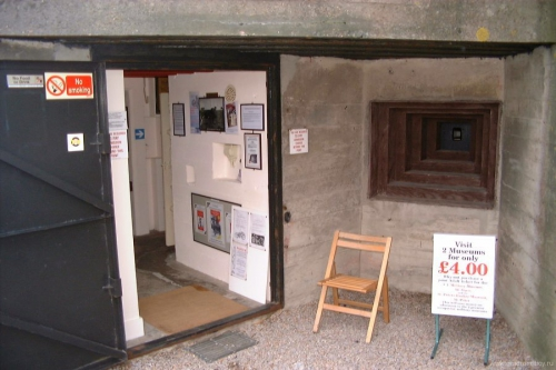 Бункер-музей на нормандских островах