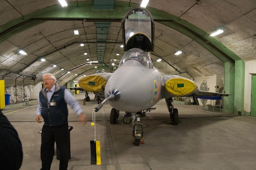бункер-музей ВВС Швеции — Aeroseum Гётеборг