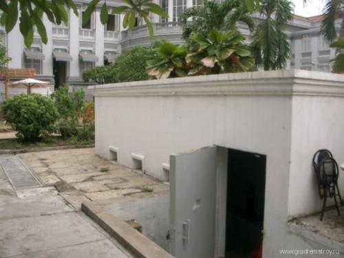 Бункер Хо Ши Мина в Ханое (Вьетнам)