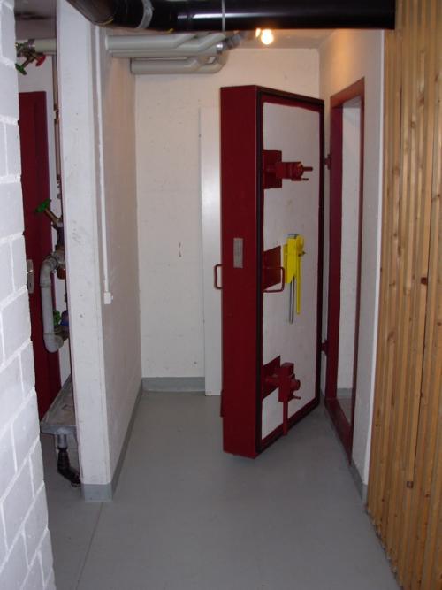Бункер - дверь
