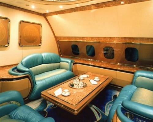 Классный самолет у султана Брунея