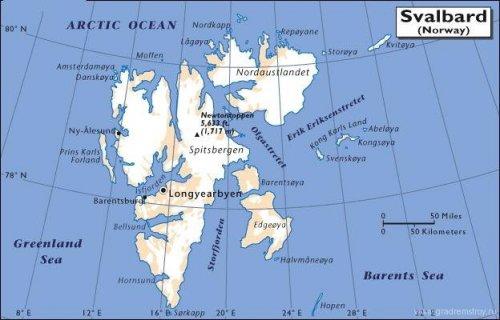 остров Свалбард