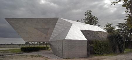 Чайный домик на банкере (Голландия)