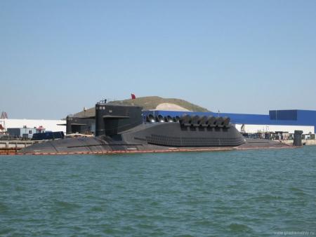 Китайская подводная лодка типа 094 Jin