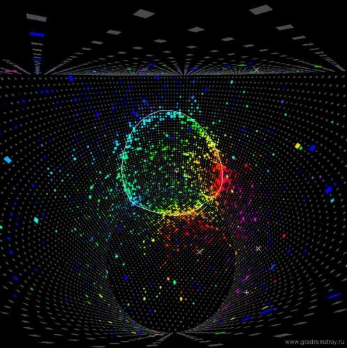 Детектор нейтрино - SUPER-KAMIOKANDE