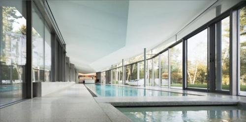 Дом с зеленой крышей от Partners Architects