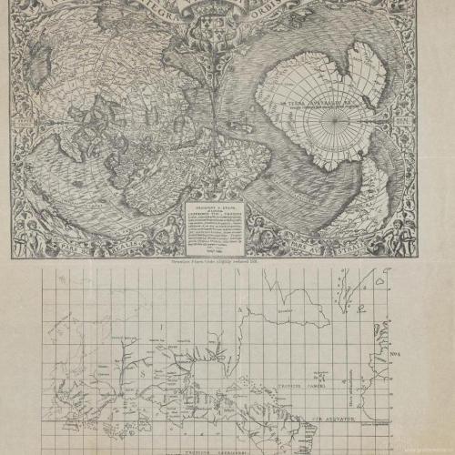 Карта Мира Оронтуса Финиуса, датированная 1531 годом