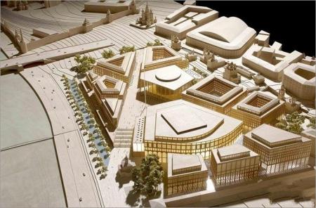 проект торгового центра на месте Гостиницы «Россия»