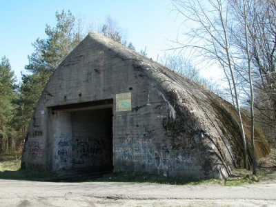 бункер Гитлера «Anlage Mitte», Польша