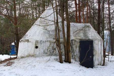 Штабквартира Гитлера Berenhohle (Медвежья берлога)