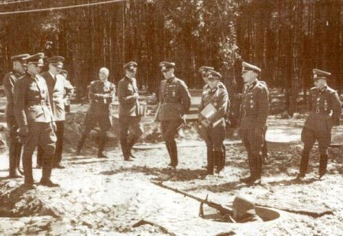 командный пункт Гитлера Вервольф (Wehrwolf)