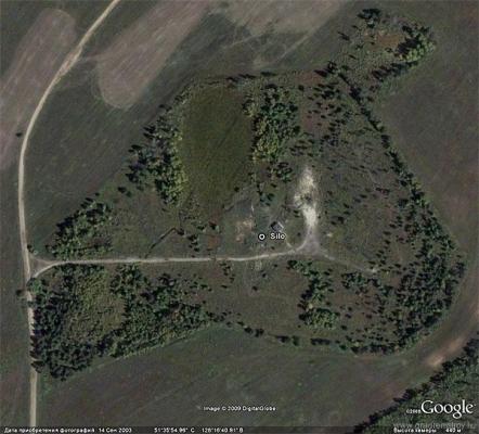 ядерные точки мира -пусковые шахты в Амурской области