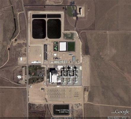 ядерные точки мира - Завод по производству ядерного оружия в штате Колорадо
