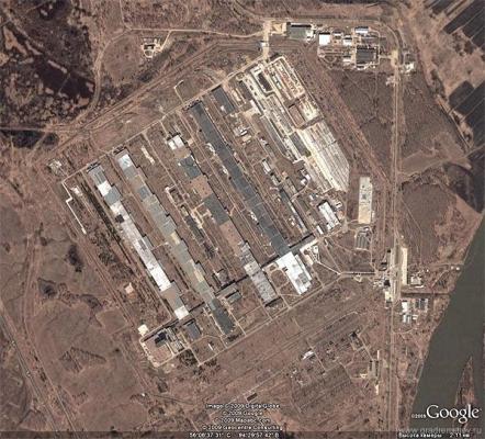 ядерные точки мира - Завод по обогащению урана в Красноярском крае