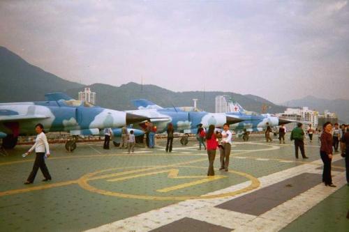 китайский авианосец!