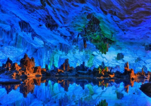 Китайский подземный природный дворец