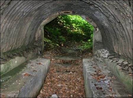 «Линия Арпада» - Укрытие на перевале Уклин