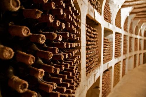 Молдавские винные подвалы Милешть Мичь