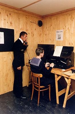 Немецкий бункер связи ВМФ (Нормандия, Франция)