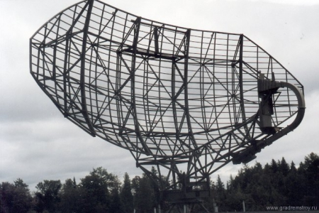 FPS-20A Search radar antenna
