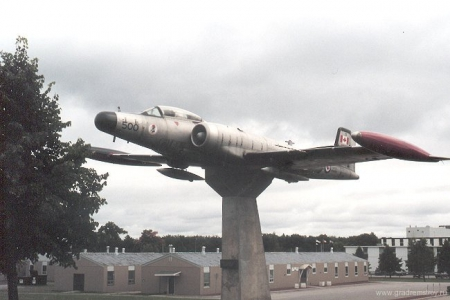 CF-101B Voodoo jet fighter