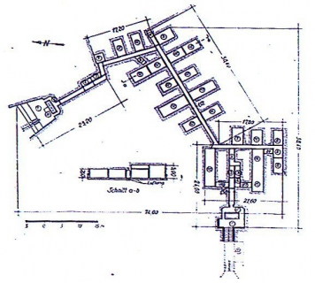 Схема Коростеньского Укреп Района №5.