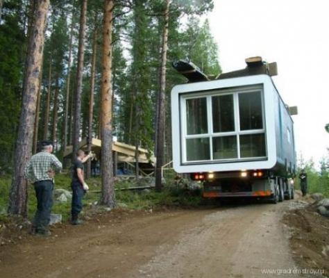 Отель на деревьях (Treehotel , Швеция)
