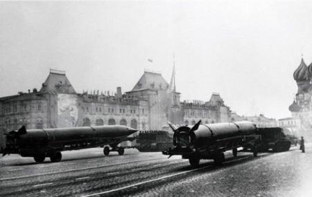 Парад на красной площади, 1967