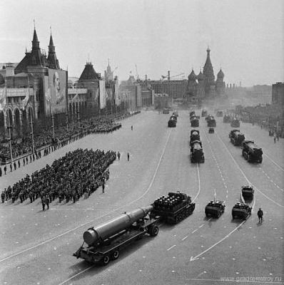 Парад на красной площади, 1962