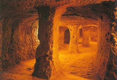 Подземные храмы атлантов (Перу)
