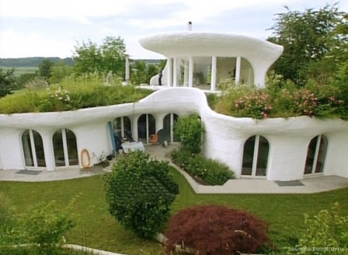 Подземный дом от студии Vetsch Architektur