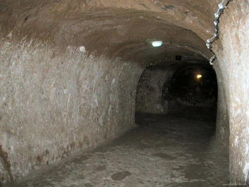 Подземный город Деринкую (Каппадокия, Турция)