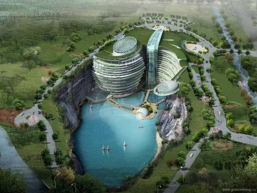 Подземный отель Songjiang beauty spot