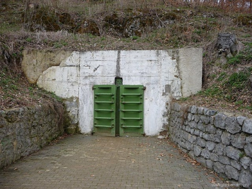 Противоатомный бункер Выпустек