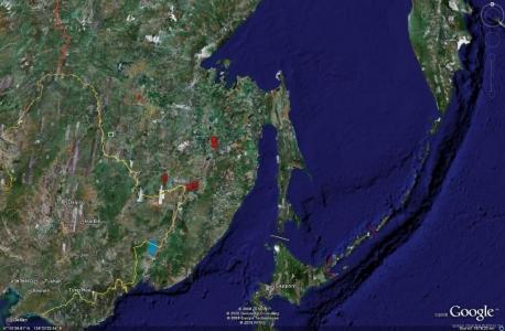 Дальневосточная зона ПВО - объекты обеспечения