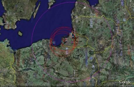 Калининград ПВО - активные объекты