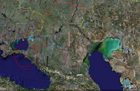 Юго-западная зона ПВО - активные объекты