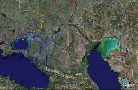 Юго-западная зона ПВО- радар D6N6