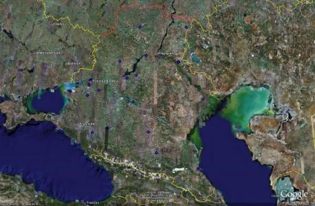 Юго-западная зона ПВО- дальнее обнаружение